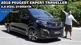 2018 Peugeot Expert Traveller 2.0 Dizel Otomatik Test Sürüşü