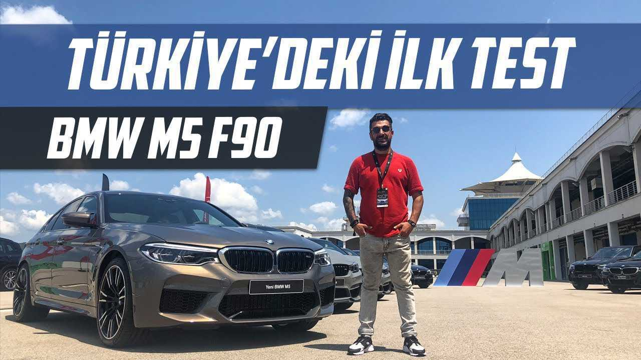 Yeni Bmw M5 F90 Test Sürüşü Araba Video