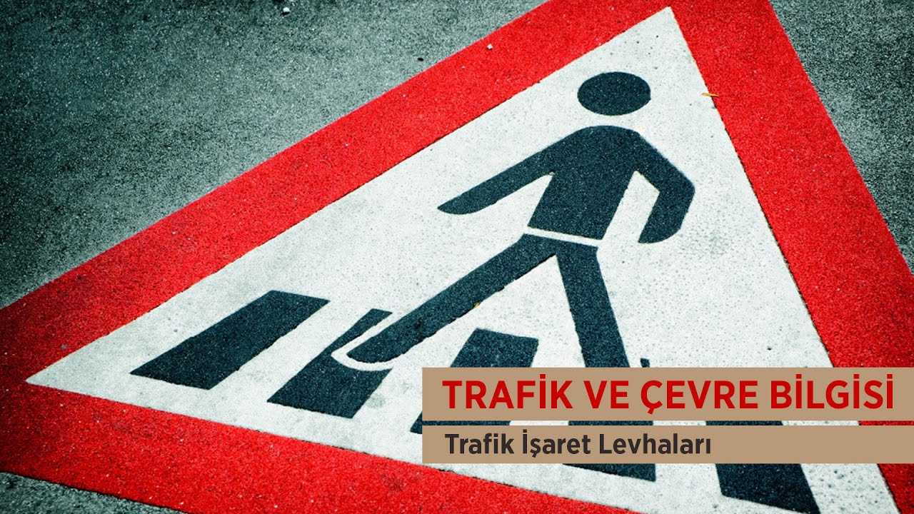 Trafik Isaret Levhalari Araba Video