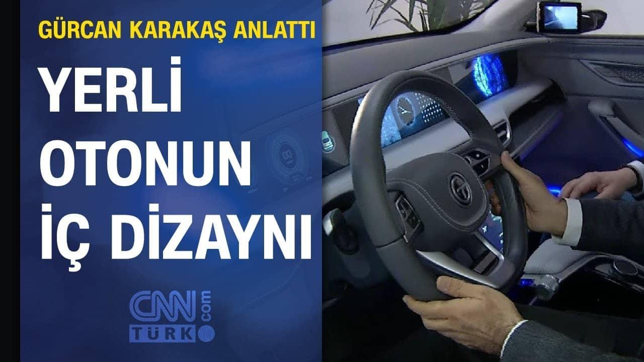 Yerli Otomobilin İç Dizaynı - TOGG - Araba Video