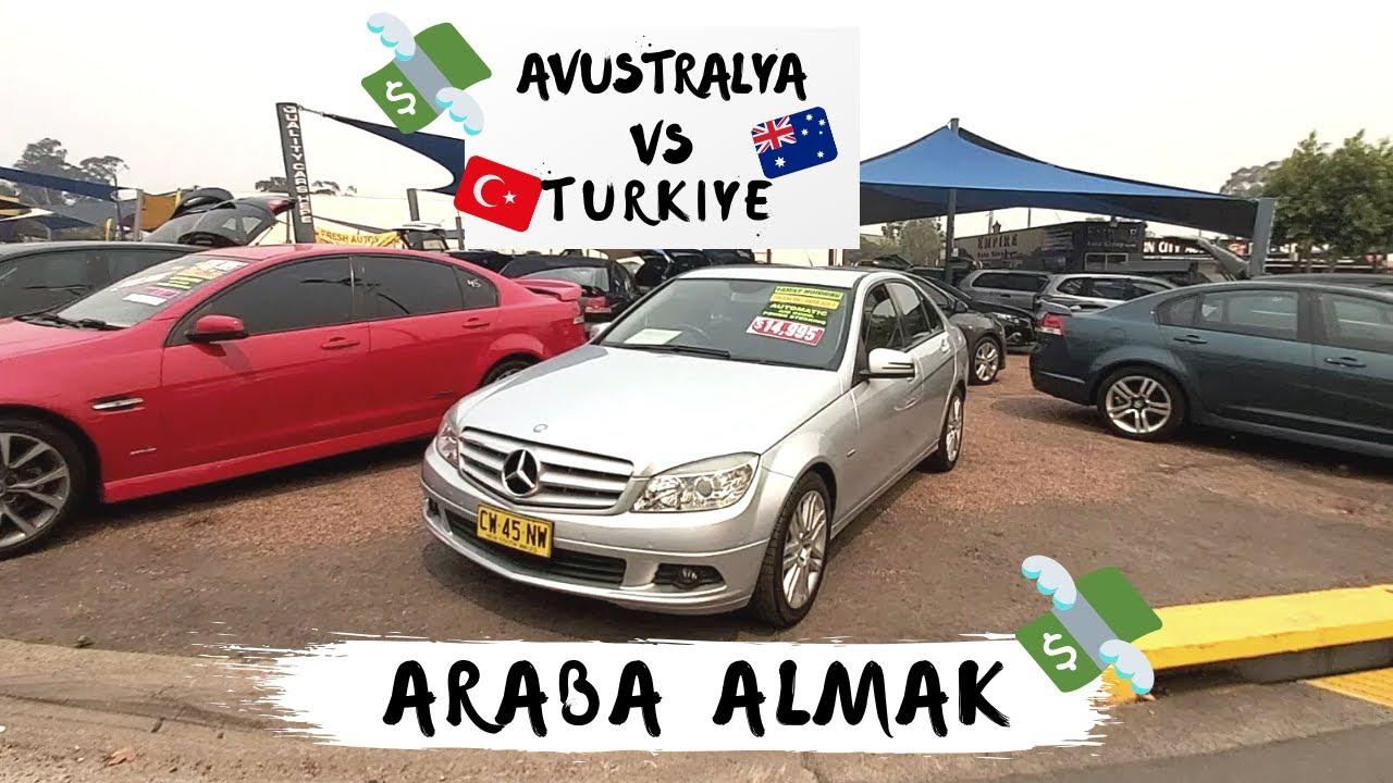Avustralya'da Araba Fiyatları