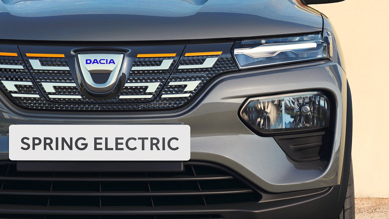 2021 Dacia Spring Electric Lansman