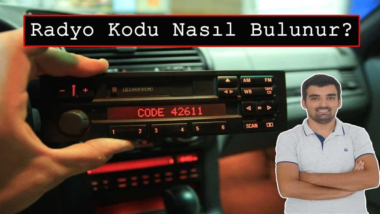 Araç Radyo Kodu Bulma